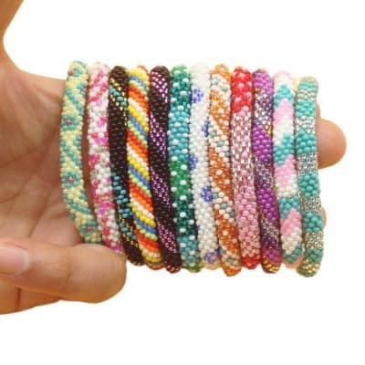 5 50 Random Selection Of 12 Pieces Nepal Bracelets