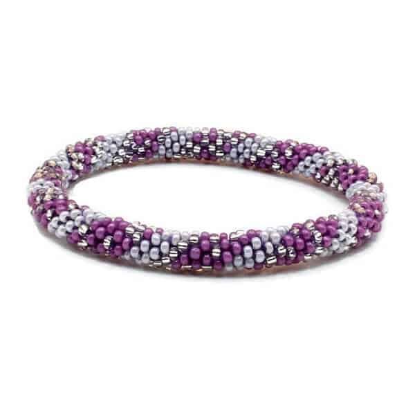 purple nepal bracelet