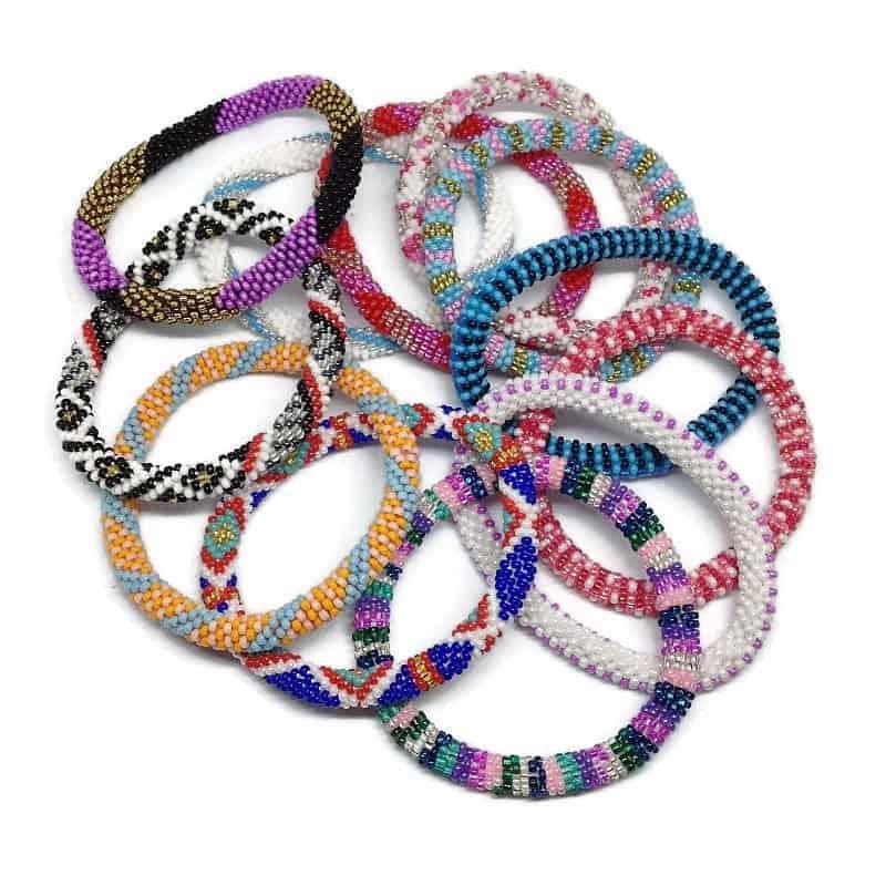 Nepal Bracelets By Ramila Beads