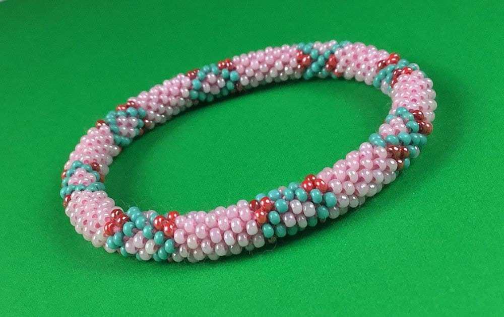 Lifted Hope Nepal Glass Bead Bracelets Handmade By Ramila Beads