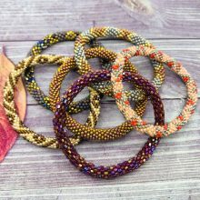 fall color jewelry barcelet