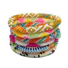 multicolor bracelets